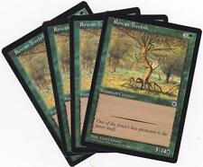 Magic MTG Portal: Rowan Treefolk X 4