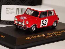 BMC MINI COOPER S #52 WINNER MONTE CARLO 1965 IXO RAC084 1/43