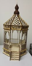 DOLLHOUSE MINIATURE 1:24 Scale Victorian Gazebo