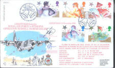 RFDC 40 Greeting from the RAF in Ethiopia Hercules signed FDC