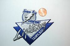 "Tampa Bay Lightning 3 3/4"" Banner Logo Patch Crest Hockey"