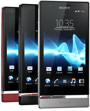"New Original Sony Xperia P LT22i - 16GB - Black (Unlocked) Smartphone 5MP 4"" GSM"