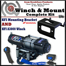 KFI 3000lb Winch Combo for 2014-2016 Honda Foreman, Rancher & Rubicon
