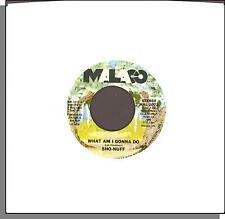 "Sho-Nuff - What Am I Gonna Do + Dancin' Funn - 1980 Malaco 7"" 45 RPM Single!"