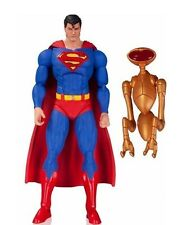 "DC Icons SUPERMAN & Robot KALAX -The Man of Steel - 6"" Action Figure DC Comics"