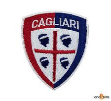 PATCH TOPPA CAGLIARI CALCIO RICAMATA TERMOADESIVA cm 7