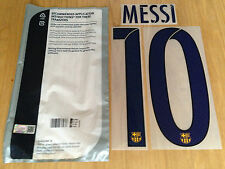 2015-16 MESSI#10 La Liga Away Shirt OFFICIAL Sporting iD Name Number Set
