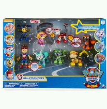 Paw Patrol All Star Action Pup Pack - Ryder Everest Skye Rocky Chase Zuma Rubble