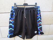 VINTAGE Short LOTTO football goal collector noir XL