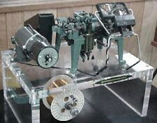 RUF (Germany) Single Curb Chain Machine with Plexiglas Display - EXCELLENT!