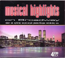 Musical Highlights on Broadway  -  4 CD BOX