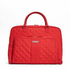Vera Bradley Weekender Travel Bag in Tango Red