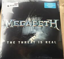 Megadeth The Threat Is Real SEALED MINT Colored Vinyl