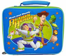 Toy Story Soft Lunch Box Insulated Bag Buzz & Woody Snack Tote Lunchbox