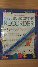 Il PRIMO LIBRO usbourne del registratore: musica SCORE (g1)