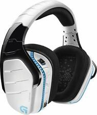 NEW Logitech G933 WHITE Artemis Spectrum Wireless 7.1 Surround Gaming Headset