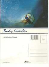 CARTE POSTALE - SURF LOISIRS OCEAN VAGUE SPORT VACANCE / BODY BOARD POSTCARD