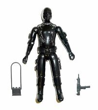 GI JOE SNAKE EYES Vintage Action Figure Straight Arm COMPLETE 3 3/4 C9 v1 1982