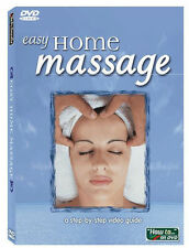 EASY HOME MASSAGE DVD   Learn from a Registered Massage Therapist  Brand New