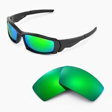 New Walleva Polarized Emerald Lenses For Oakley Canteen(2013&before)