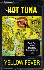 YELLOW FEVER- HOT TUNA (CASSETTE) BRAND NEW FACTORY SEALED
