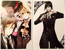 Kuroshitsuji Black Butler-CIEL SEBASTIAN ALOIS CLAUDE Postcard Photo Card Set #K