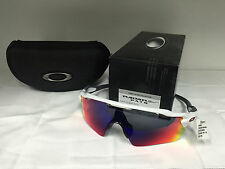 New Oakley Radar EV Path - Polished White - Red Iridium (OO9208-18)