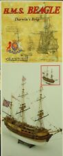 Mamoli 1:64 HMS Beagle Ship Wooden Model Kit #MV20