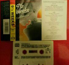 9 Settimane e 1/2 Weeks Ost Colonna Sonora Mc Tape Cassette