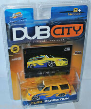 Jada Dub City - FORD EXPEDITION - yellow/blue - 1:64 #028