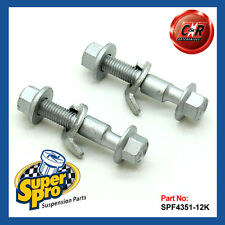 VW Polo Mk4 9N1 2002 - 2009 Superpro Front Camber Adjusting Bolt Kit SPF4351-12K