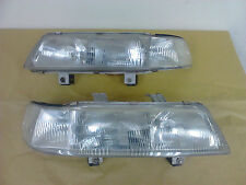 JDM EF HONDA CIVIC EF2 4Doors SEDAN 1piece HEADLIGHTS SH4 Clear Lights Lamp OEM