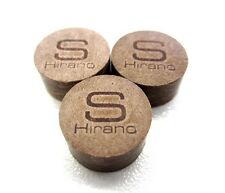 3 Hirano Soft Pool Cue Tips 14mm Qty 3 Tips