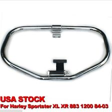 Chrome Highway Engine Guard Crash Bar For Harley Sportster XL XR 883 1200 1984-2