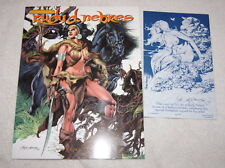The Art of Rudy Nebres (2000) erotic fantasy art with SIGNED bookplate