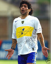 DIEGO MARADONA AUTOGRAPH SIGNED PP PHOTO POSTER