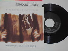 "NEIL YOUNG & CRAZY HORSE -When Your...- 7"" 45 mit Product Facts Promo-Flyer"