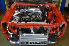 CXRacing Turbo Intercooler + Bracket For 79-93 Ford Mustang 5.0 Fox Body