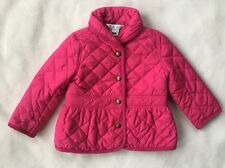 RALPH LAUREN POLO Baby Girl Quilted Coat Jacket SIZE 12 MONTHS Pink NEW $99.50
