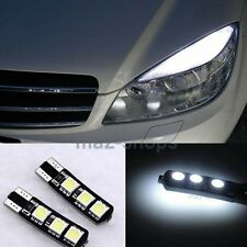 4Pc 6SMD White LED Error Free Eyebrow Eyelid Light  For Mercedes Benz W204 C300