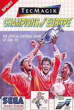 # Sega Master System-Champions of Europe/MS juego #