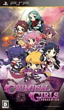 Used PSP Criminal Girls  Japan Import ((Free shipping))、