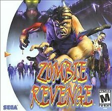 Zombie Revenge for Sega Dreamcast New Factory Sealed!