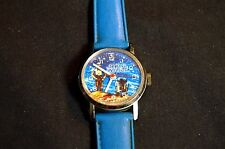 VINTAGE STAR WARS C-3PO R2D2 SWISS MADE WIND UP WATCH 1977 Bradley WORKS!