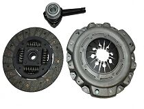 3 Piece New Clutch Kit: Fits Nissan Almera 1.5DCi 03-, Micra K12 1.5DCi 03-,