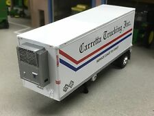 1/64 DCP CARRETTA WABASH THERMO KING REEFER PUP TRAILER