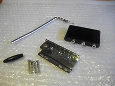 Super-Vee Blade Runner tremolo bridge nickel made in USA. Stratocaster