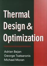 NEW: Thermal Design and Optimization by Michael Moran INTL ED