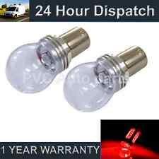 2X 382 1156 BA15s P21W RED 3 CREE LED HI-LEVEL BRAKE LIGHT BULBS HBL203301