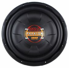 "Boss D12F 12"" 1000 Watt Single 4 Ohm Slim Low-Profile Car Audio Subwoofer/Sub"